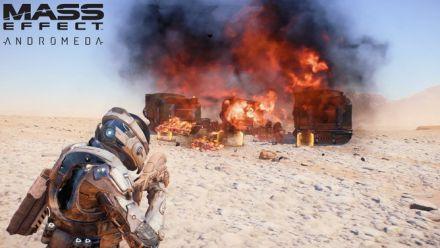 MASS EFFECT ANDROMEDA : Vidéo de gameplay #1 - Le combat