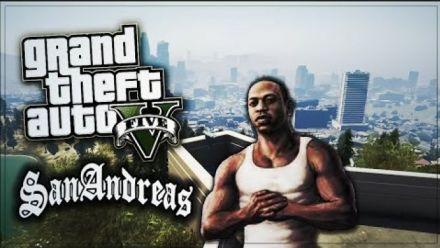 Vid�o : GTA San Andreas : Trailer avec moteur GTA V