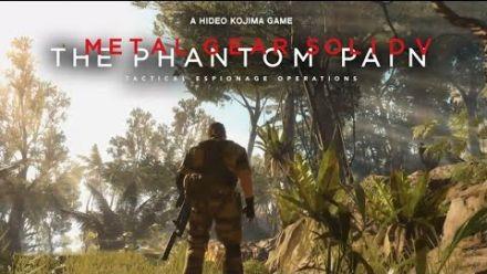 Metal Gear Solid V : The Phantom Pain - démonstration du Fox Engine