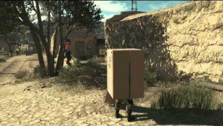 Metal Gear Solid V - Snake In A Box - Gamescom 2014