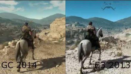 Metal Gear Solid V : The Phantom Pain - comparatif E3 2013 - Gamescom 2014