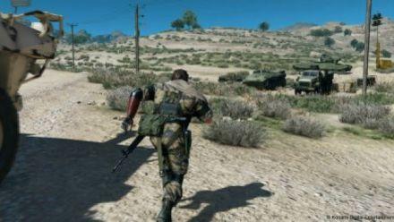 MGS V Phantom Pain : 11 minutes gameplay Afghanistan (GC 2015)