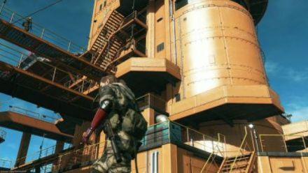 Metal Gear Solid V : The Phantom Pain - Gamescom 2015 gameplay