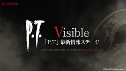 vidéo : Silent Hills PT Special Stage - Visible TGS 2014