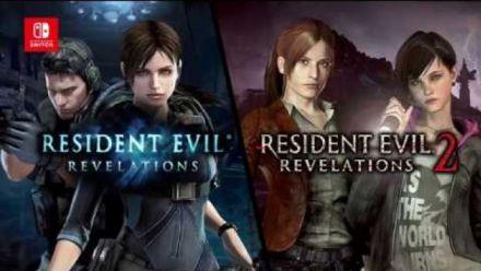 Vid�o : Resident Evil Revelations 1 & 2 : Joy Con gameplay