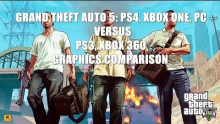 Grand Theft Auto 5 comparatif