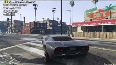 Grand Theft Auto V sur Surface Pro 2
