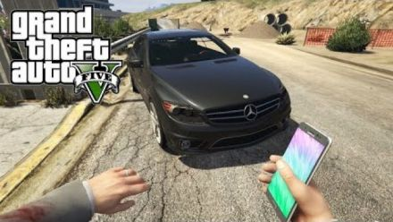 Vid�o : Grand Theft Auto V - Mod Samsung Galaxy Note 7