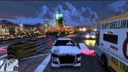GTA V / PC / Ultra / 1080p / 60fps / Balade en voiture