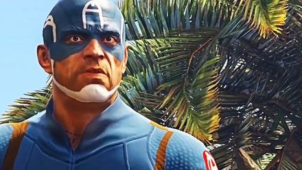GTA 5 : La bande-annonce de Captain America Civil War recréée