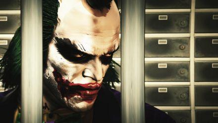 Trevor transformé en Joker