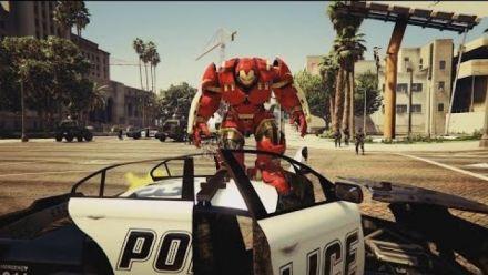GTA V : mod Hulkbuster