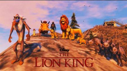 GTA V transformé en jeu Roi Lion