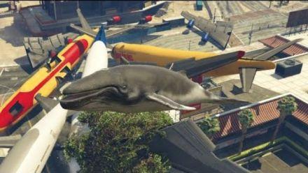 vidéo : GTA 5 PC Mods - Baleine tueuse