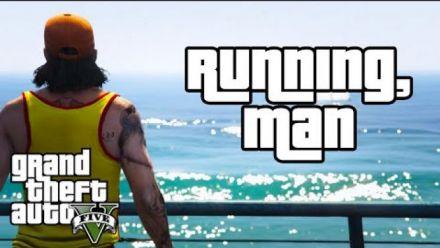 Running Man, première vidéo GTA 5 avec Rockstar Editor