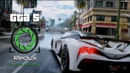 Grand Theft Auto V - Mode GTA 5 Redux