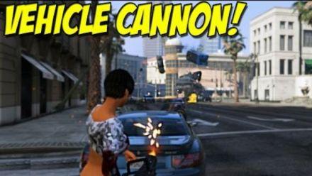 Car Gun mod