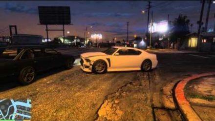 vidéo : GTA V / PC / Ultra / 1080p / 60fps / Balade en voiture + à pieds