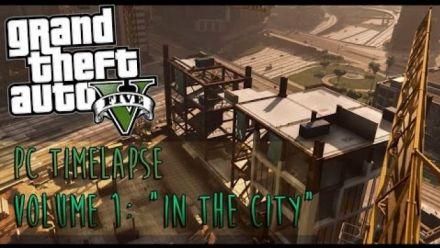 GTA 5 PC - Timelapse de la ville
