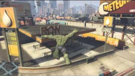 GTA 5 : Mod Hulk