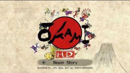 Vidéo : Okami HD : Première heure de jeu sur Switch