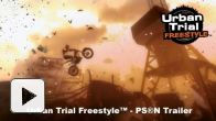 Urban Trial Freestyle Trailer PSN