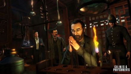 Sherlock Holmes Crimes & Punishments L'art de la métamorphose