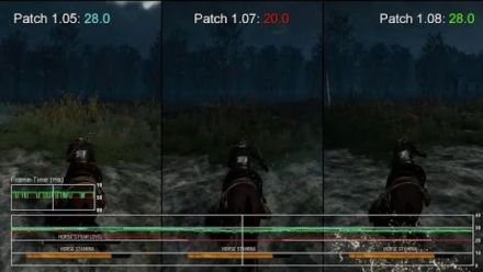 vidéo : The Witcher 3 Patch 1.08 XBOX ONE Test Frame Rate Digital Foundry