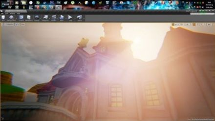 Super Mario Galaxy sous l'Unreal Engine 4