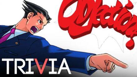 Vid�o : TRIVIA : Ace Attorney et les secrets d'un procureur divin
