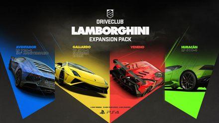 Les Lamborghini déboulent dans DriveClub en vidéo