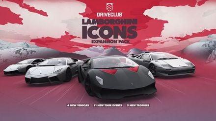 Vid�o : DriveClub : Lamborghini Icons