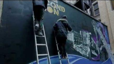 inFAMOUS Second Son : Delsin Rowe fait le mur