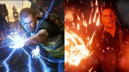 inFamous Second Son vs inFamous 2 Comparison (PS4 vs PS3)