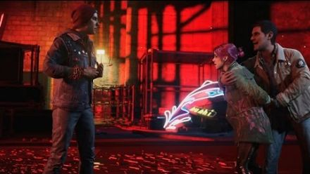 inFAMOUS : Second Son - Preview Build BRoll Footage