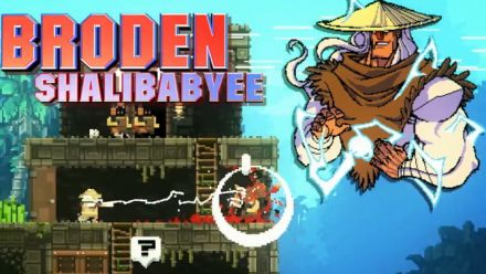 Vid�o : BroForce Lightning Strikes Twice Update trailer