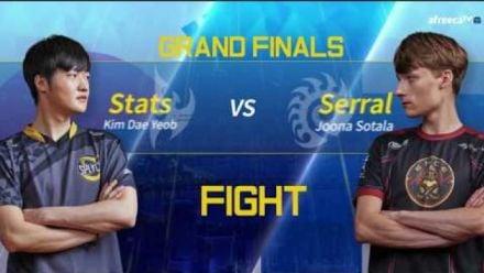 Vidéo : [GSL vs. the World 2018] Grand Finals Stats vs Serral Set1-Set2