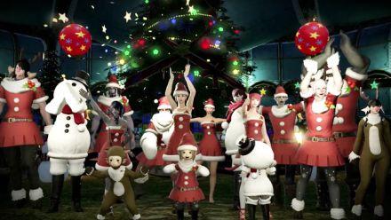 Vid�o : Final Fantasy XIV célèbre Noël à Eorzea, la vidéo
