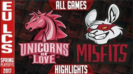 Misfits Vs UoL Playoffs LCS EU