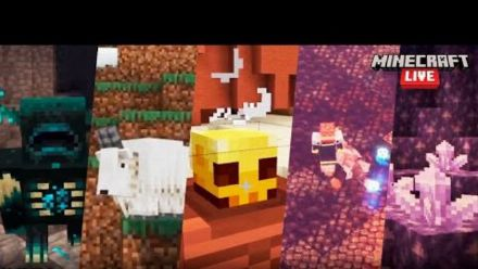 Vid�o : Minecraft Live: Update Highlights