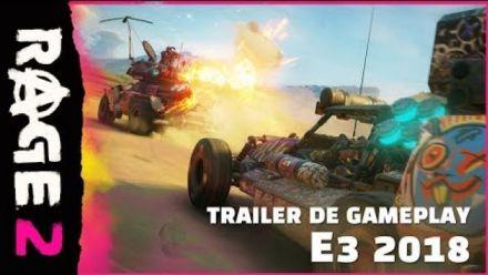 Vidéo : Rage 2 se montre en vidéo à l'E3 2018