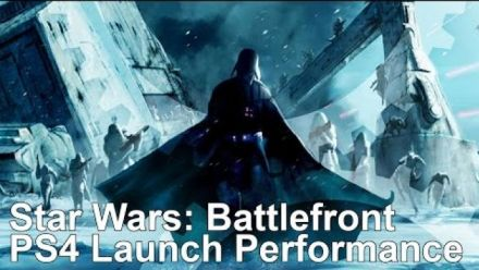 vidéo : Star Wars Battlefront : Analyses performances PS4 par Digital Foundry