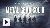 Vid�o : Metal Gear Solid : The Legacy Collection - Trailer Japonais