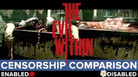 The Evil Within : différences entre le gore activé/désactivé