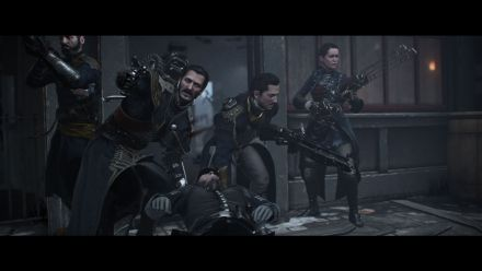 vidéo : The order 1886 - How do Knights Recover from Attacks- Blackwall Yards Map