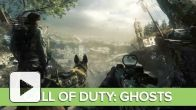 "vidéo : Call of Duty Ghosts Gameplay : Mission avec le chien ""No Man's Land"""