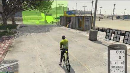 Vid�o : Grand Theft Bike V - Bicycle training in GTA V (Vidéo de Nestor Matas)