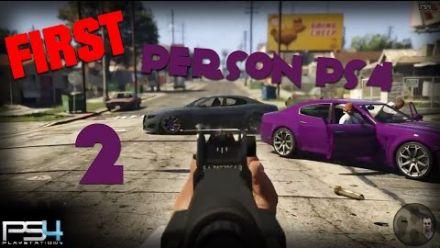 GTA 5 - Gameplay en première personne
