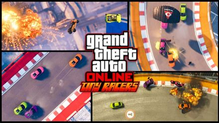 Grand Theft Auto V : Trailer mode Tiny Racers