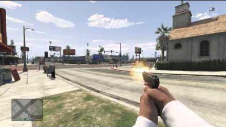 vidéo : VIDÉO. GTA 5 en vue FPS, ça donne ça